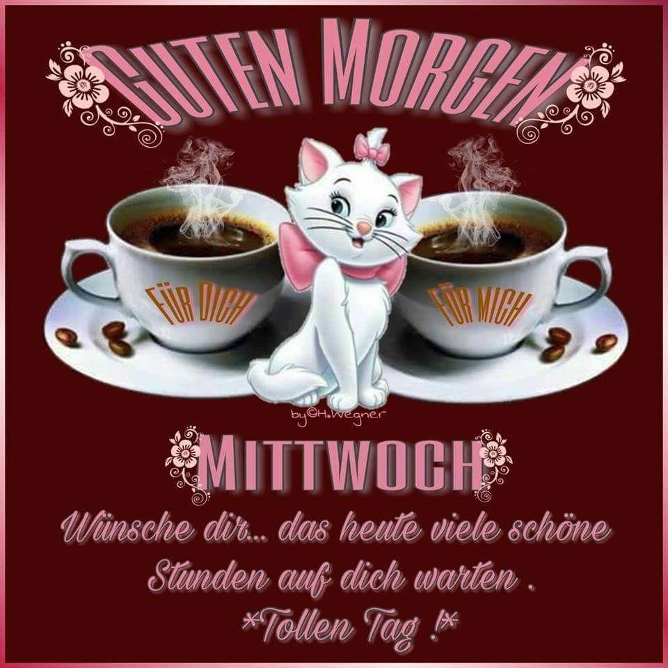 Pin Von Happy Cat Auf Cat Art Bilder Mittwoch Guten