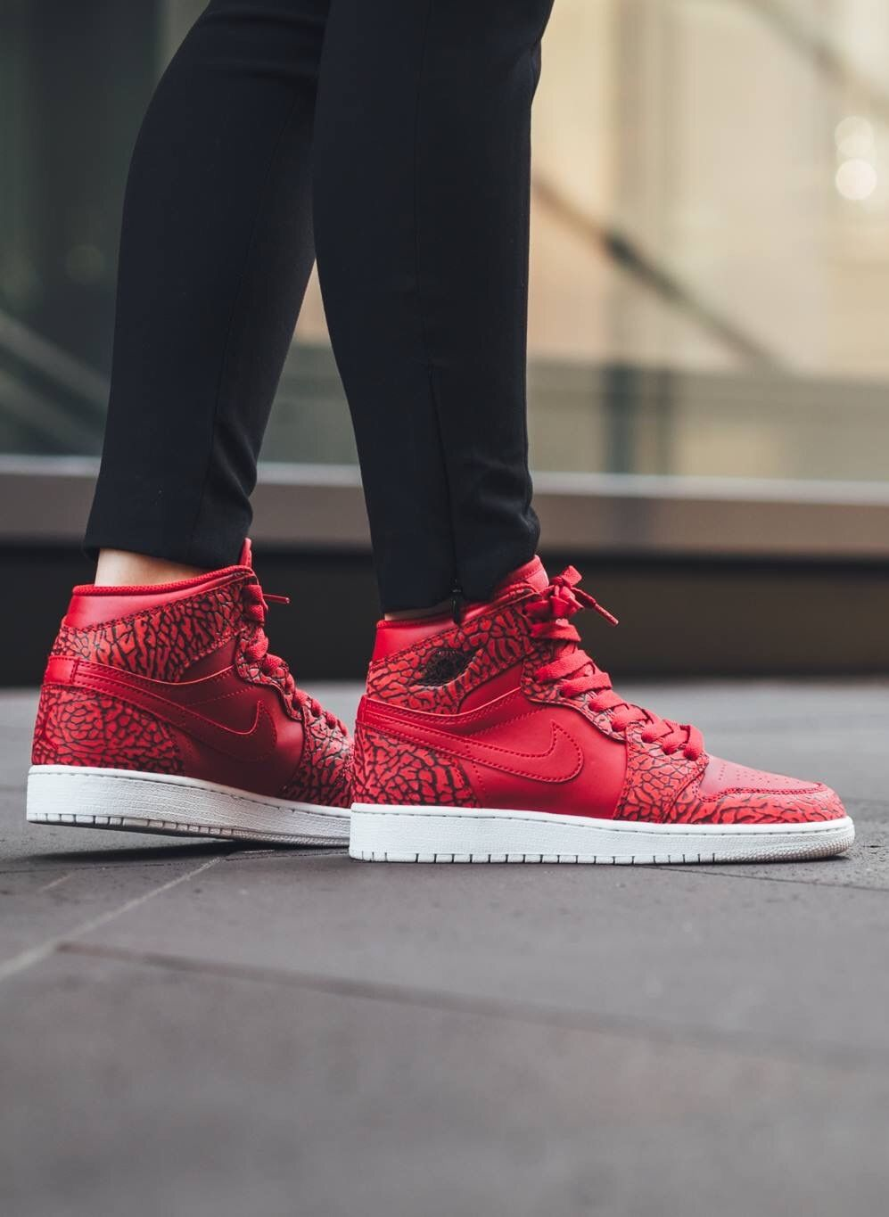 Nike Air Jordan 1  Red Elephant   927cdf9aea8e