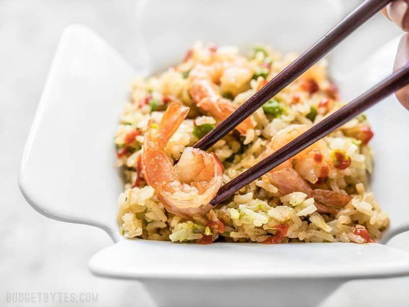 Rice Cooker Teriyaki Shrimp and Rice #ricecookermeals