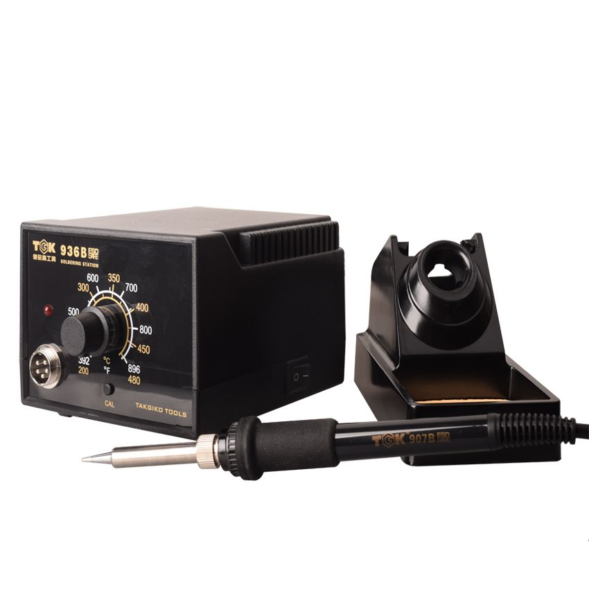 Promotion CE ROHS High Quality Slodering Iron Station 60W 480 Degree Soldering and Desoldering Rework Station TGK-936B