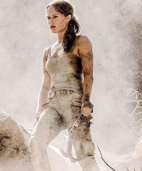 Alicia Vikander Tomb Raider 2018 Movie Full Hd Wallpaper: Alicia Vikander