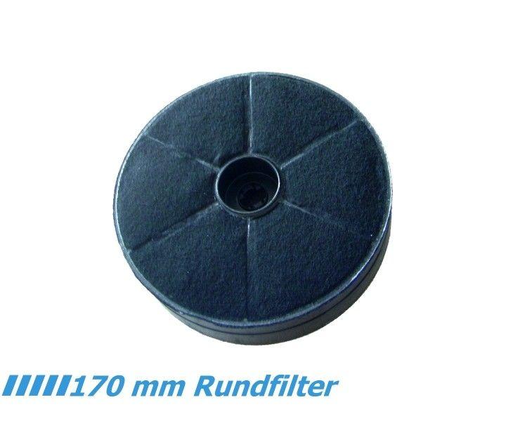 K aktivkohlefilter dunstabzug rund durchmesser mm cm