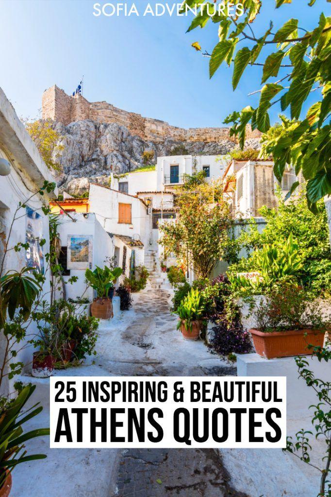 25 Gorgeous Quotes about Athens & Instagram Caption ...