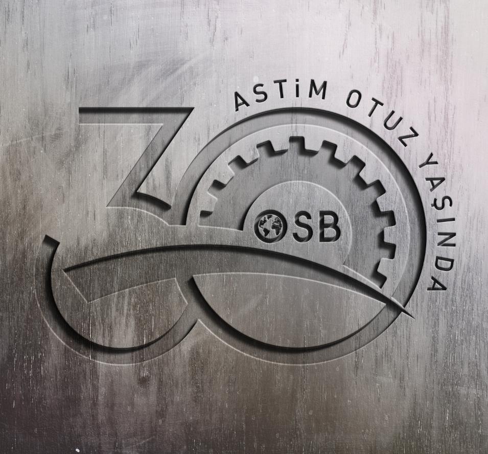 astim organize sanayi bölgesi 30.yıl logo tasarım çalışması. kurumsal ajans & tedarikci olarak ajansımızı tercih ettikleri için teşekkür ederiz. cagajans.com.tr
