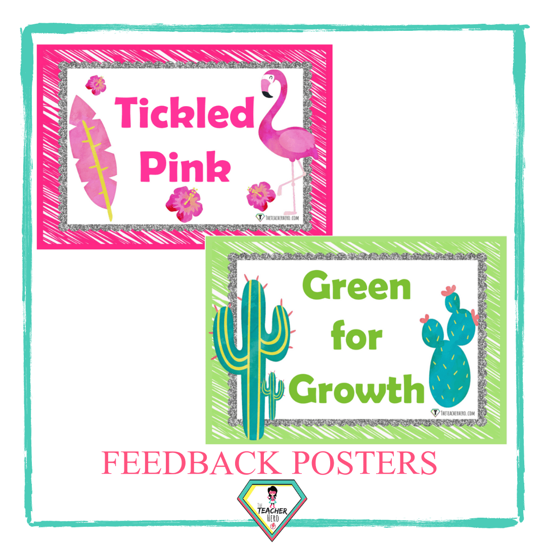 Feedback Charts Tickled Pink Or Green For Growth