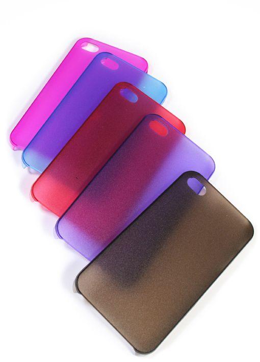 Softe dunne transparante Iphone 5 cover, verkrijgbaar in 5 kleuren! Nu maar 15 EURO. www.fabstyle.nl
