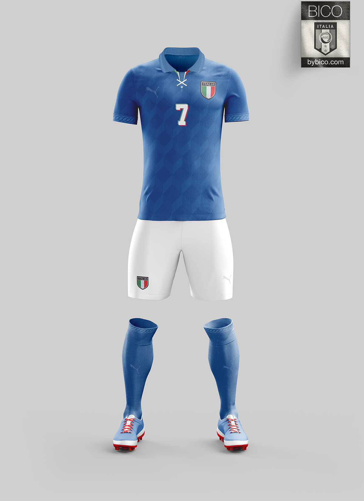 Italy Kit On Behance Football Team Kits Football Uniforms Soccer Kits