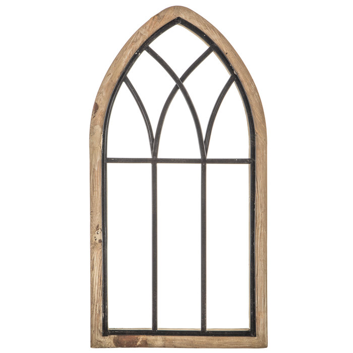 Rustic Cathedral Arch Wood Wall Decor in 2020 Arched