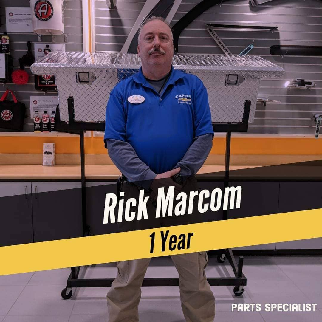 Today Marks 1 Year That Rick Has Been With Capital Chevrolet We Thank You Greatly For What You Do Today Marks 1 Year That Rick Chevrolet Today Travel Dreams