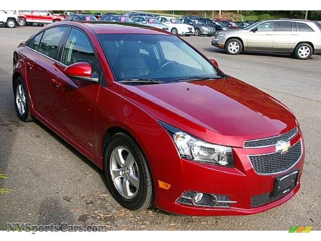 cheverolet cars red 2011 Chevrolet Cruze LT/RS in