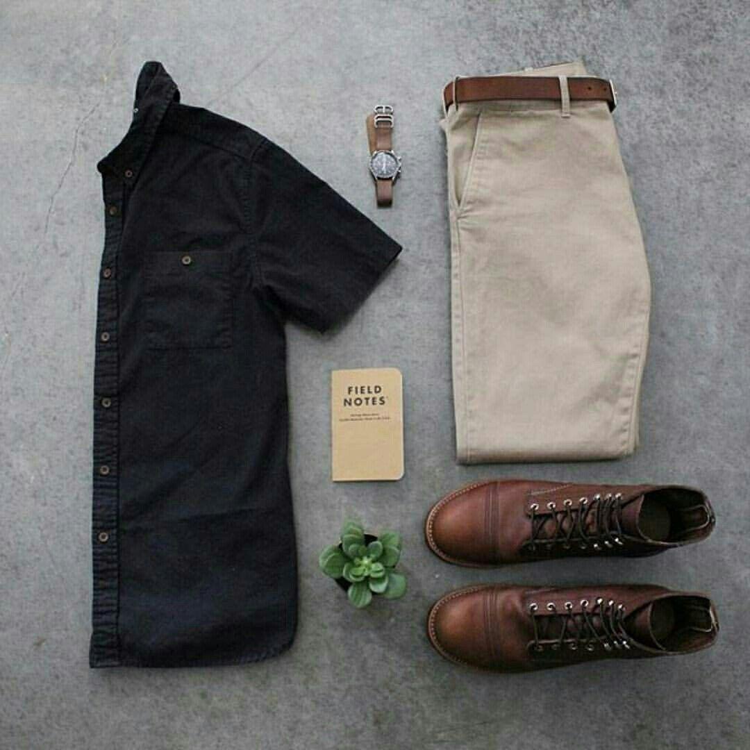 Outfit grid - Relaxed look · Estilo De HombreEstilo ... 02f03300de9
