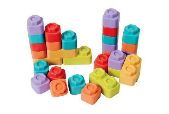 Wooden Toy - Multi Functional Animal Puzzle - Jenga Blocks