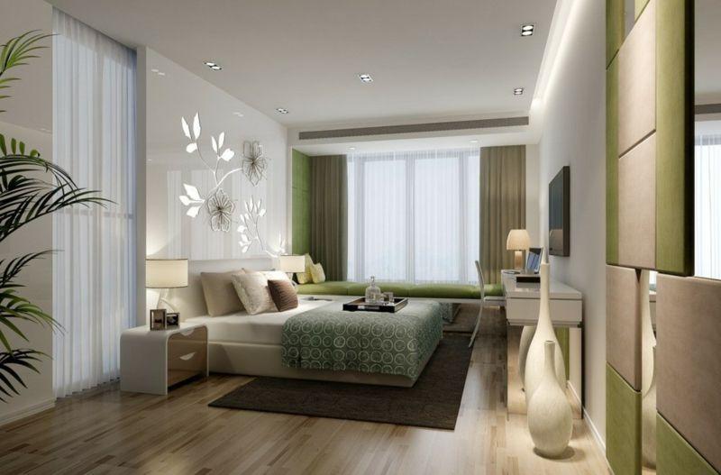 Schlafzimmer Farbgestaltung \u2013 Töne, Tapeten  High-End Betten - moderne tapeten fr schlafzimmer
