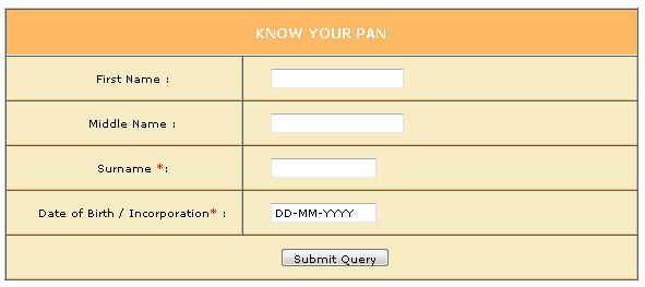 Pan Card Verification How To Verify Your Pan Card Details Know Your Pan Cards First Names