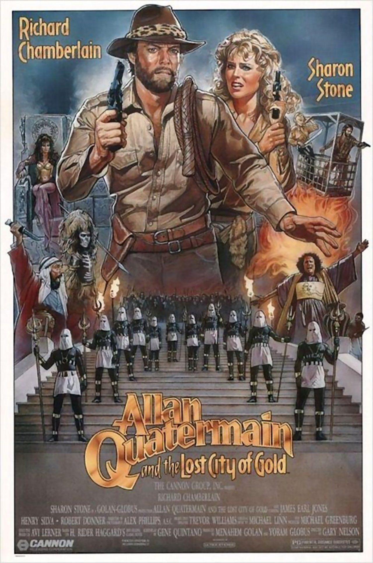 Allan Quatermain E A Cidade Do Ouro Perdido 1985 Filmes De