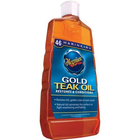 Meguiar's Gold Teak Oil, 16 fl oz