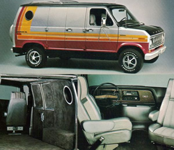 Image Result For 1980s Ford Van