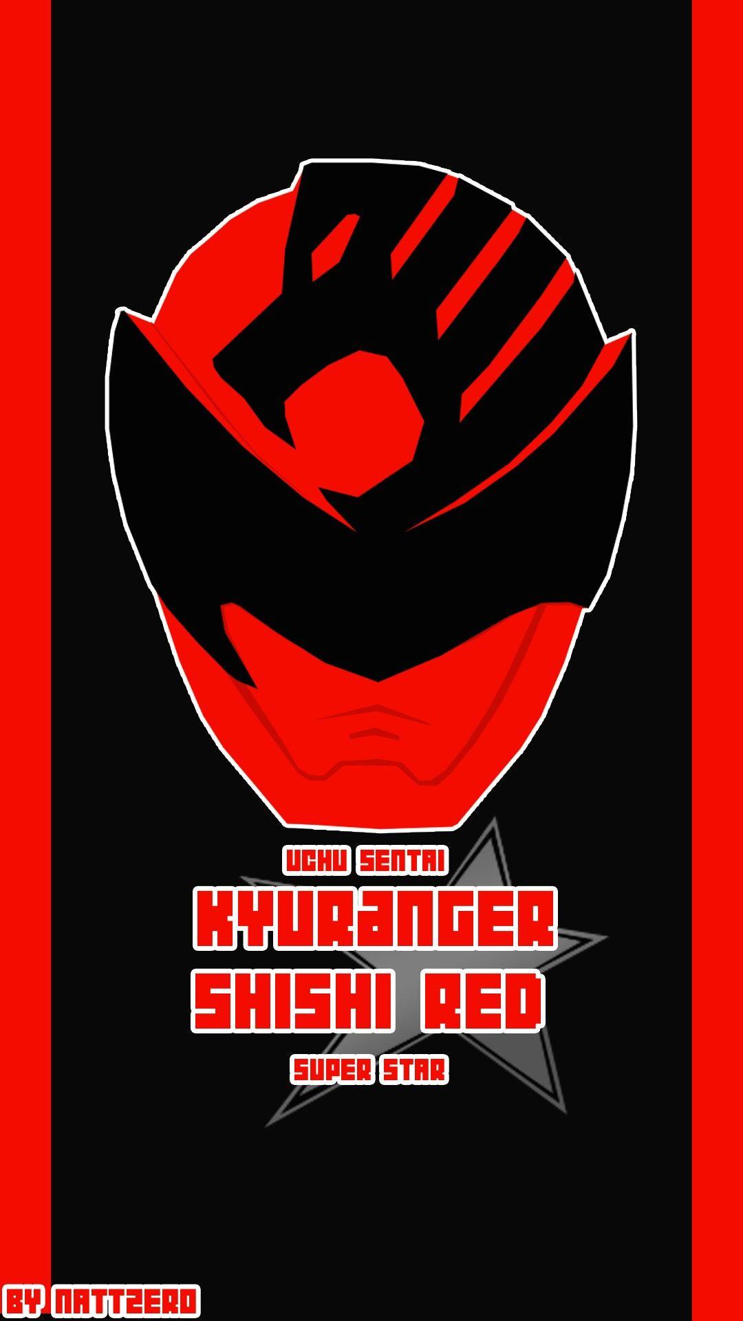 Uchu Sentai Kyuranger Shishi Red by Zeronatt1233 on