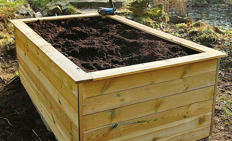 Hochbeet Gunstig Selbst De Hochbeet Garten Hochbeet Bepflanzung
