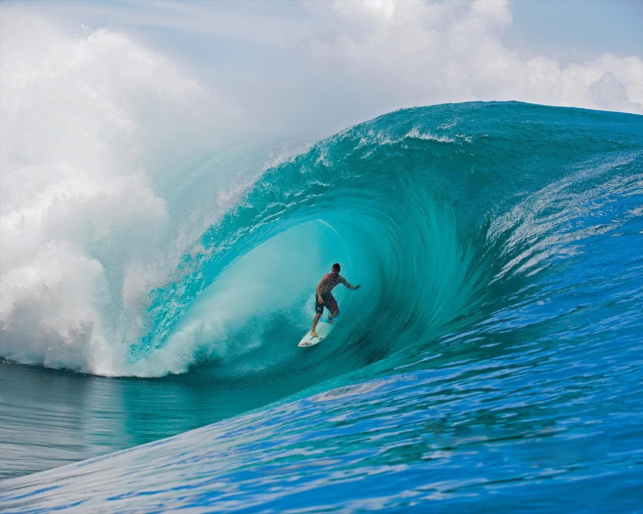 big surf | download big waves wallpaper, 'beating the wave'. | art