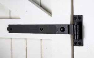 Very helpful website regarding size of hinges that are appropriate for size of doors.