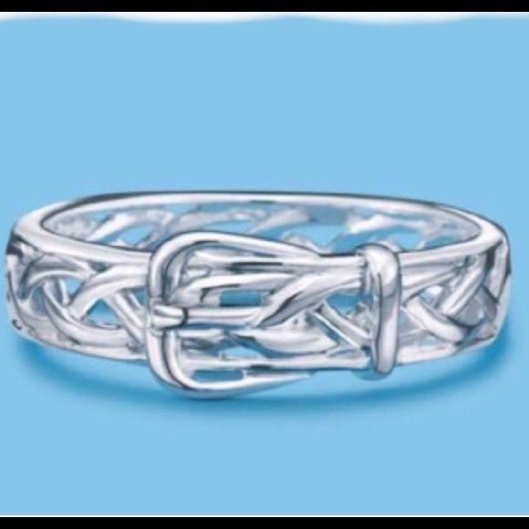 Sterling Silver Buckle Ring My Posh Picks Pinterest