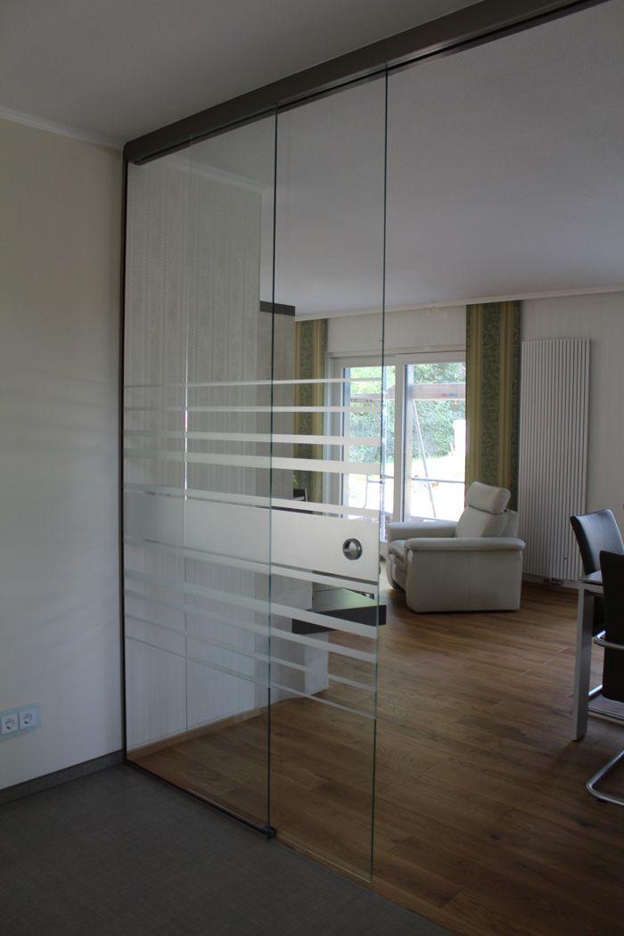 Schiebetursystem Mit Festteil Glasschiebetur Innenturen Glastur