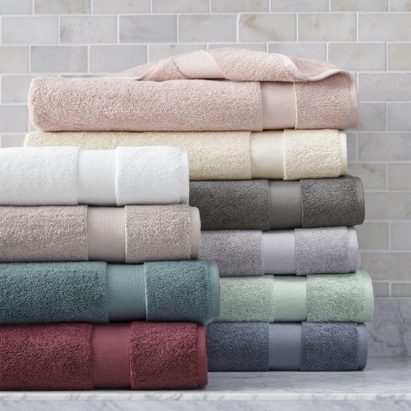 Turkish Cotton 800 Gram Blush Bath Sheet Patterned Bath Towels