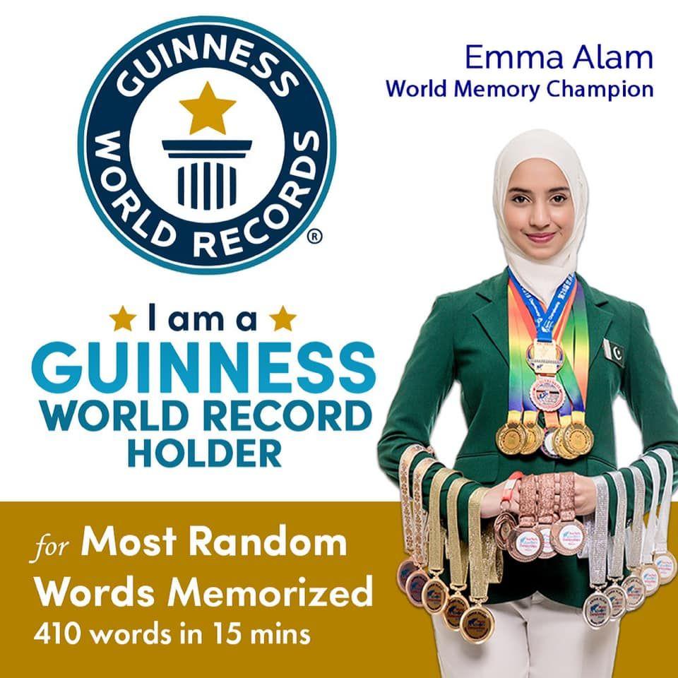 Emma Alam | Pakistani Girls Beat India and Sweden | Guinness World Records