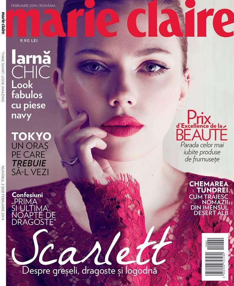 Marie Claire Worldwide 3 Marie claire, Scarlett
