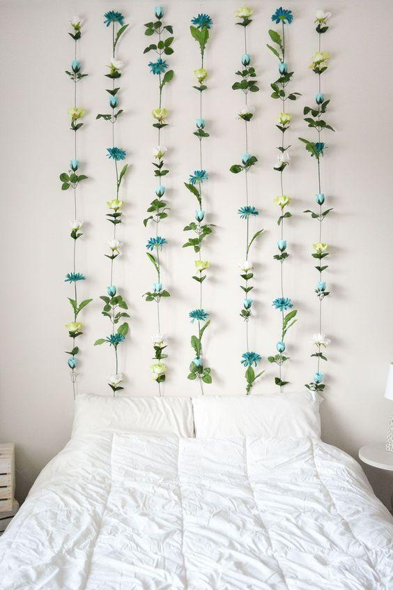 10 DIY Floral Room Decor Ideas images