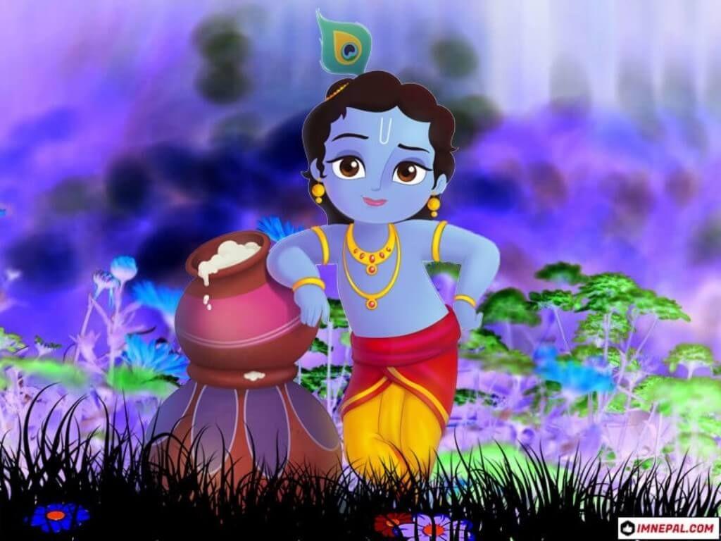 Lord Shri Krishna Images Wallpapers Childhood Krishna Images Lord Krishna Images Lord Krishna