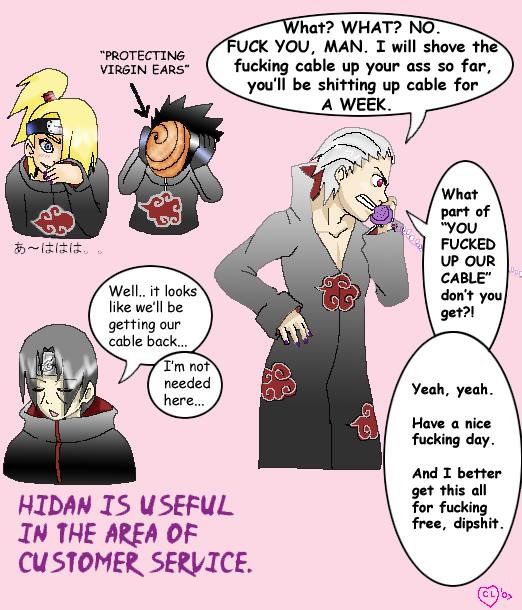 Hidan's Usefulness      Akatsuki: Funny   Funny naruto memes