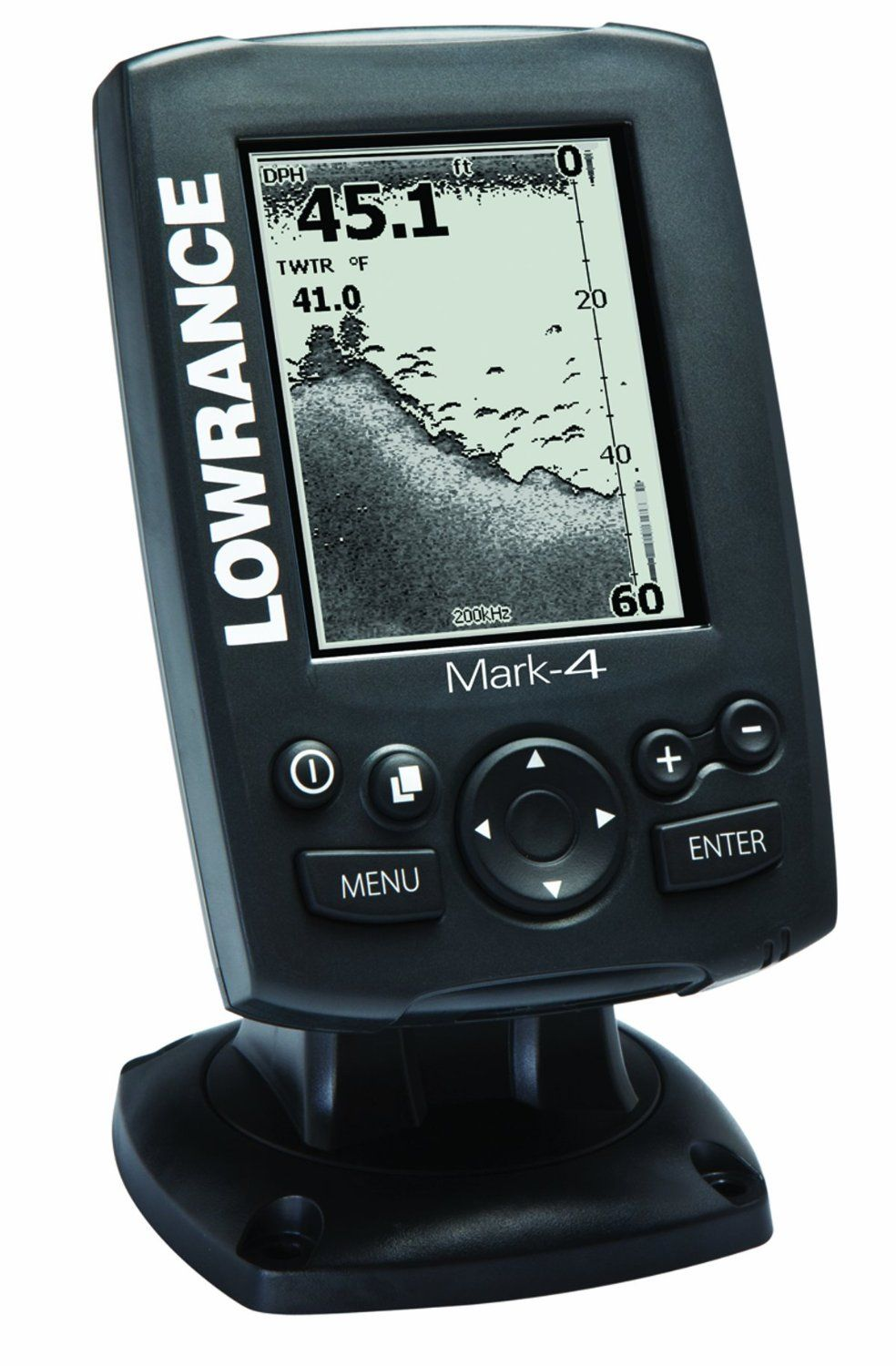 lowrance mark 4 combo base fishfinder and