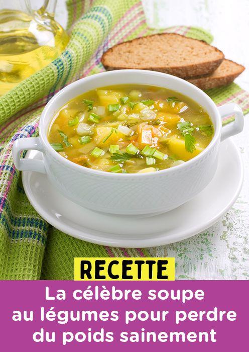 Recette : La célèbre soupe aux légumes pour perdre du