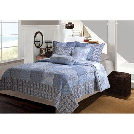 Global Trends Lucinda Reversible Quilt Set Multicolor King Quilt Sets Twin Quilt Reversible Quilt