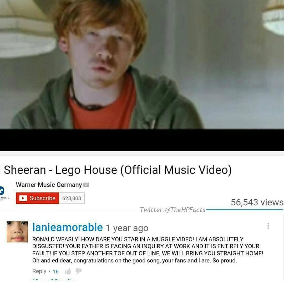 Best Youtube Comment Ever Harrypottermemes Swagrid Harrypotter Harry Potter Memes You Are The Father Harry Potter Universal