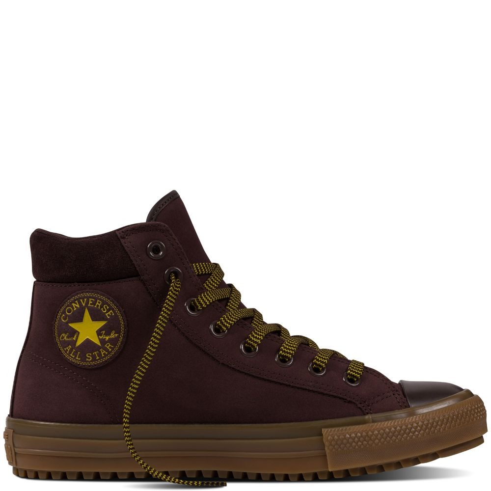 cd861374f970 Chuck Taylor All Star Converse Boot PC Leather Burnt Umber