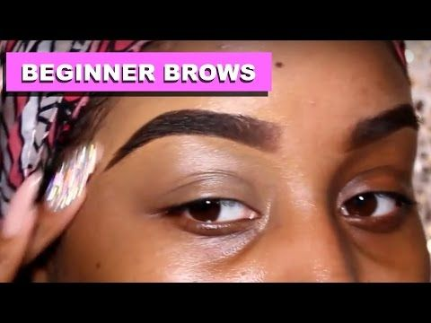 easy natural eyebrow tutorial updated for very thin