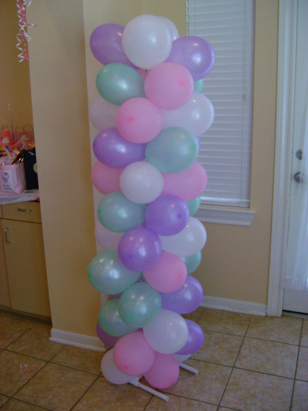 Diy balloon columns - Balloon Columns Balloon Arches And Balloon Columns