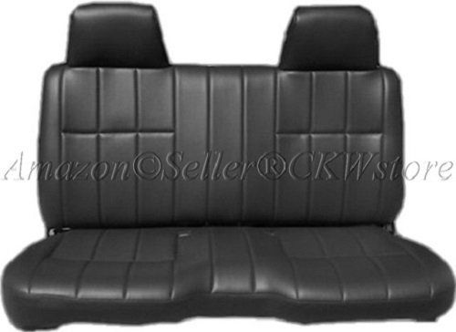 Admirable A25 Toyota Pickup 1990 1995 Front Solid Bench Premium 8Mm Ibusinesslaw Wood Chair Design Ideas Ibusinesslaworg