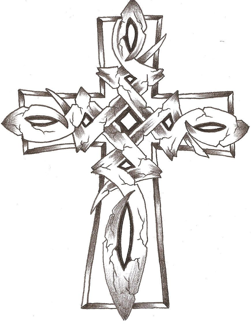 Cross Coloring Pages | Celtic Stone Cross by ~TheLob on deviantART ...