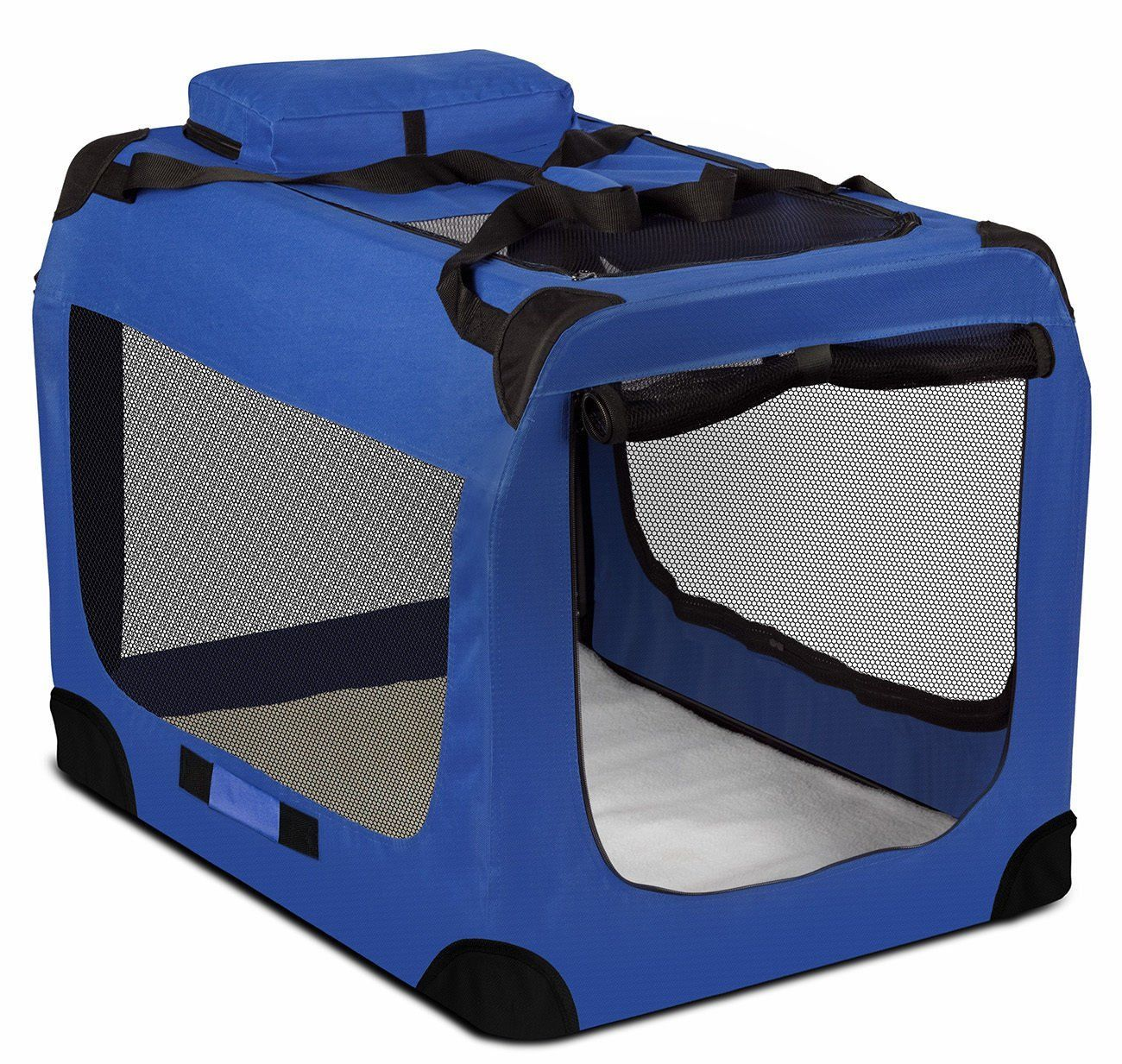 Dog Crate Soft Sided Pet Carrier Foldable Training Kennel Portable Cage House >>> New and awesome product awaits you, Read it now