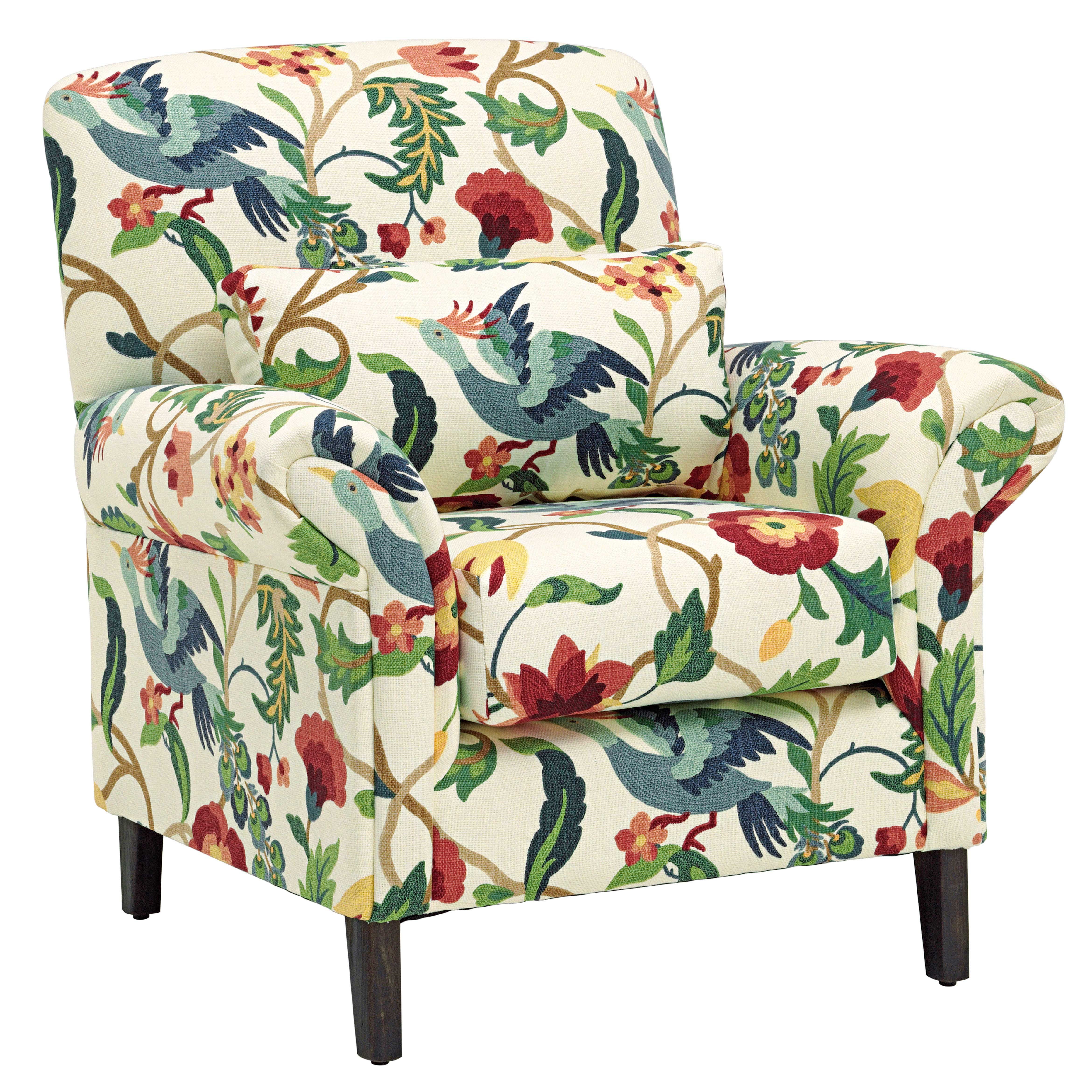 Tiffany Fabric Accent Chair From Domayne Abode Accent