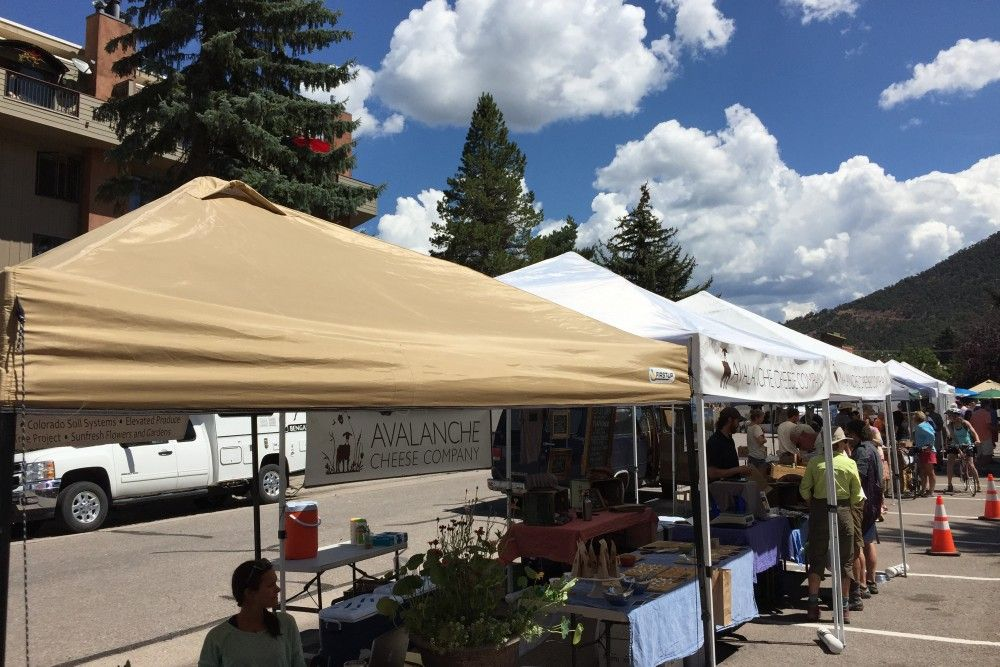 Basalt Sunday Market: Don't miss Avalanche Cheese Company for great goat cheeses and meats. They also own Meat & Cheese Restaurant & Farm Shop in Aspen.