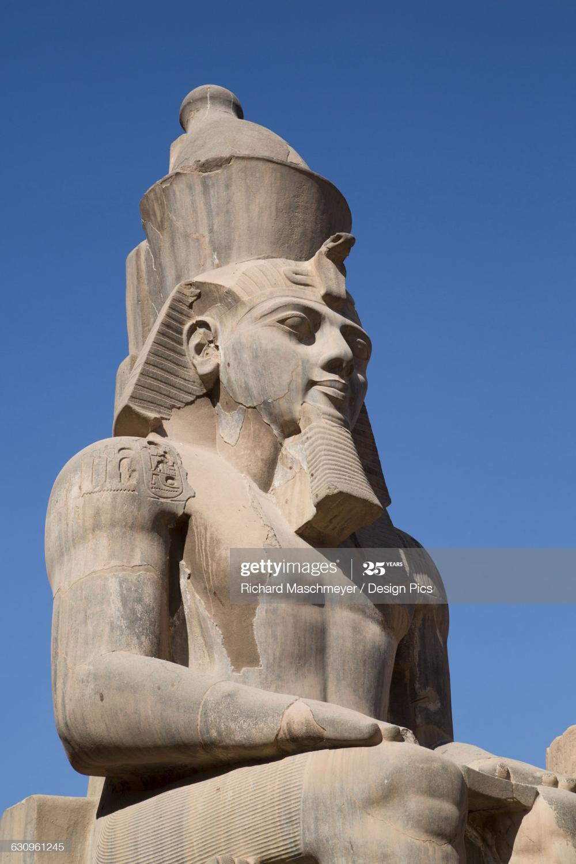 Luxor Egypt Statue Ramses Ii Luxor
