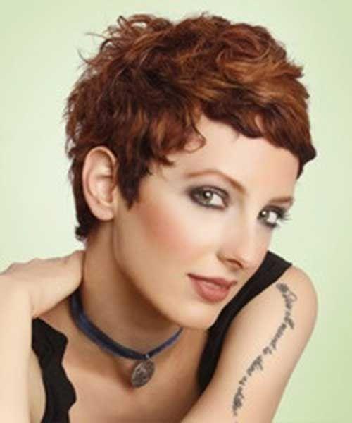Atemberaubende Curly Short Hair Ideen für Frauen #curlshorthair