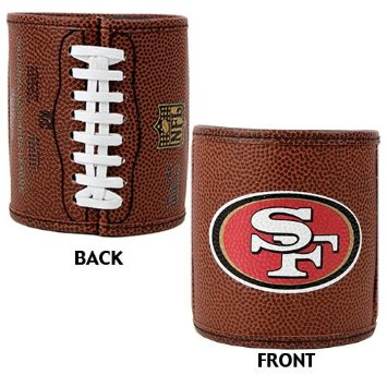 San Francisco 49ers Football Can Holder at End Zone