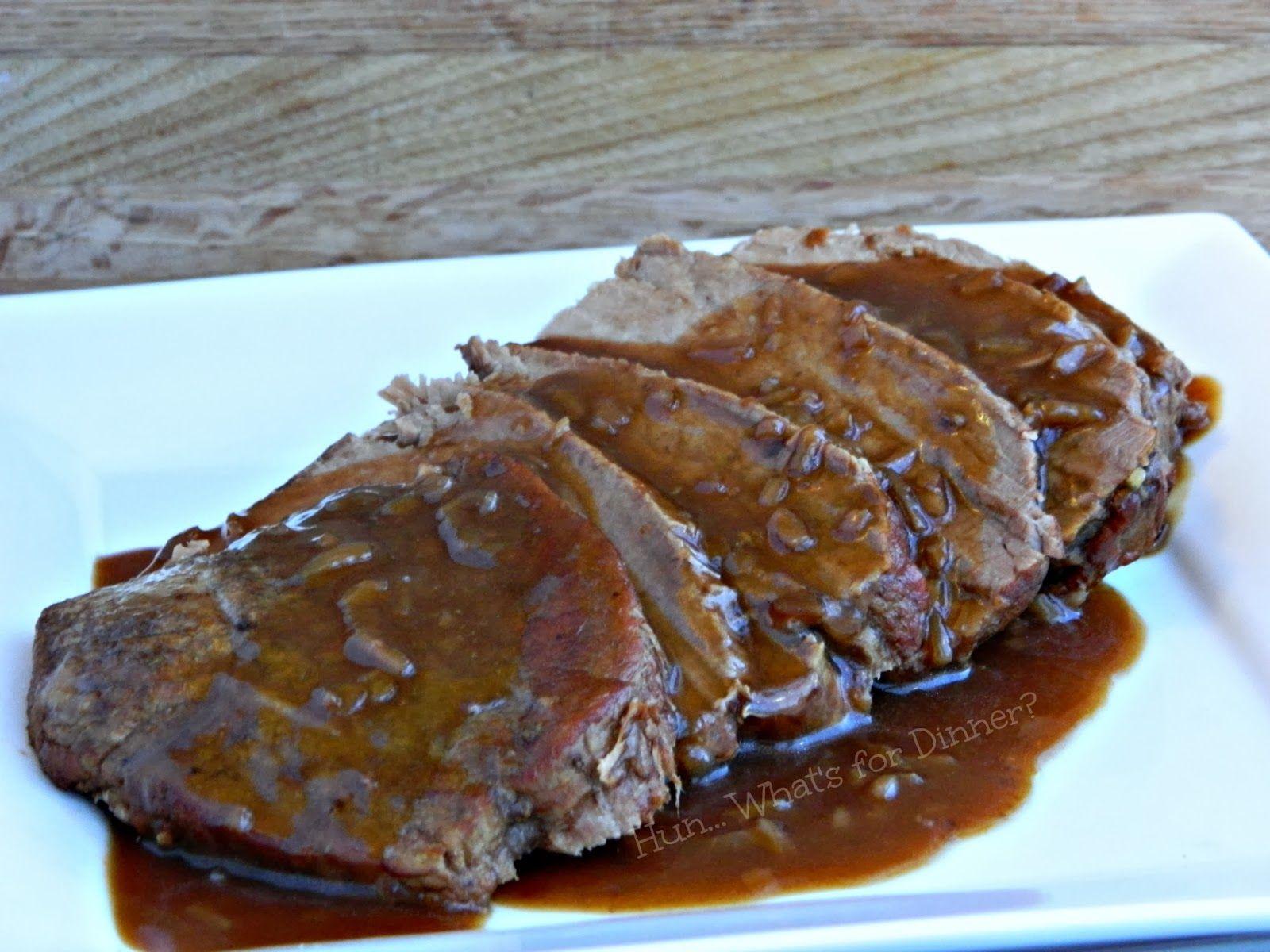 Melt in Your Mouth Crock Pot Roast Beef | Roast beef crock ...
