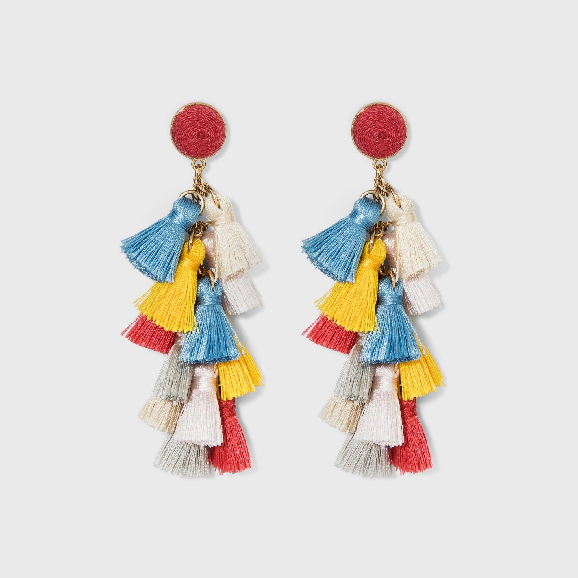 35483f721d12b SUGARFIX by BaubleBar Multi-Tassel Drop Earrings, Women's ...